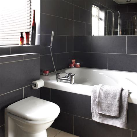 black and white bathroom tiles ideas black and white bathroom designs ideal home