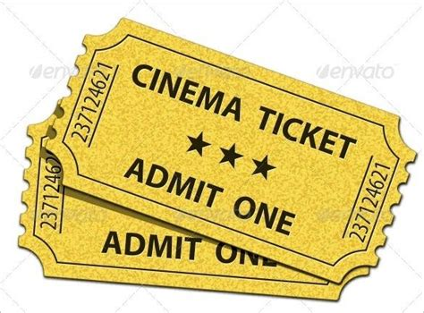 admit one ticket template ticket templates free premium templates