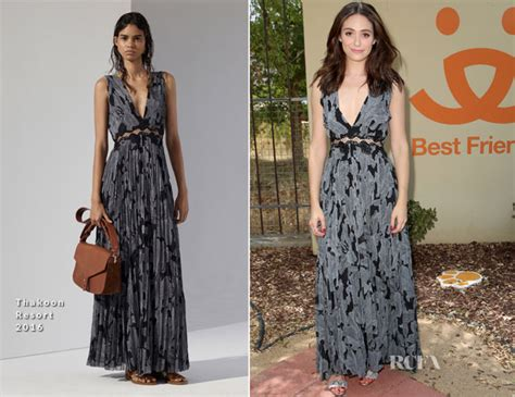 Catwalk To Carpet Emmy Rossum by Emmy Rossum In Thakoon Partners With Windows 10 And Best