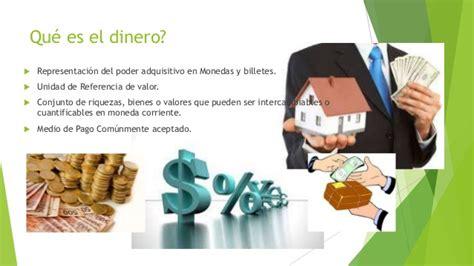 el dinero y la el dinero y sus funciones