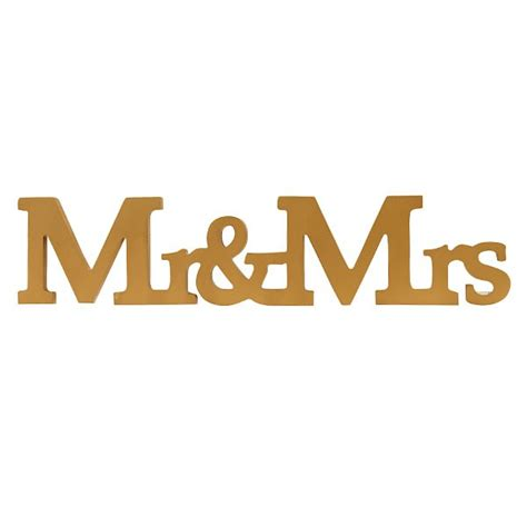 mr mrs table letters golden mr mrs wooden letters sign pipii