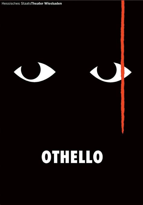 overall themes of othello othello poster gunter rambow 1999 hessisches
