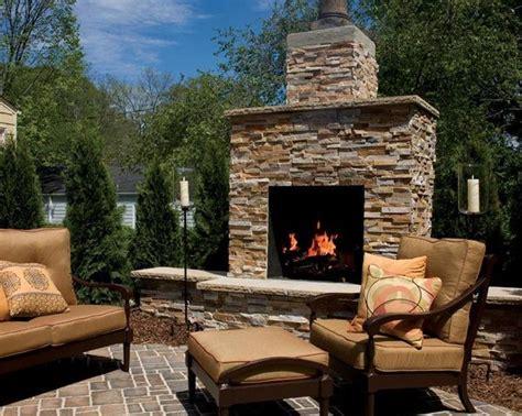 20 beautiful outdoor fireplace designs