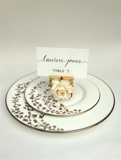 wedding name card holders whole tbrb twine place card holder rustic wedding decor