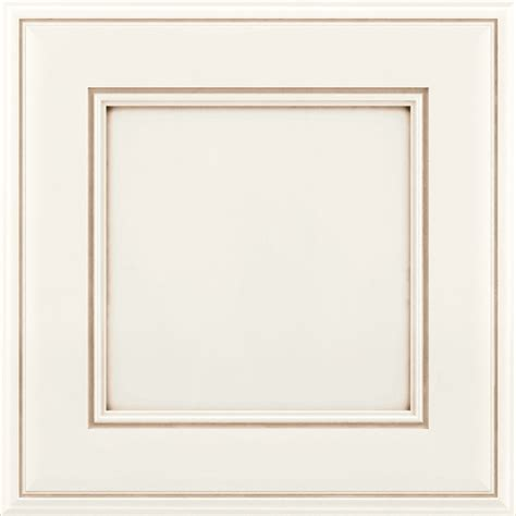 How To Paint And Glaze Kitchen Cabinets by Shop Kraftmaid Hartwell 15 In X 15 In Dove White Cocoa