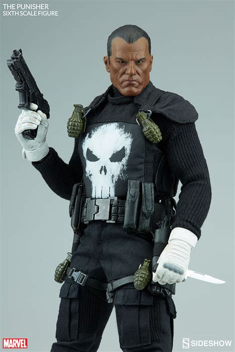 the figure marvel the punisher sixth scale figure by sideshow