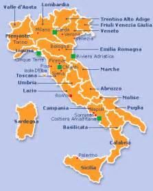 Italy Map Regions by Italy Regions Map Of Italy The 20 Italian Regions Italy