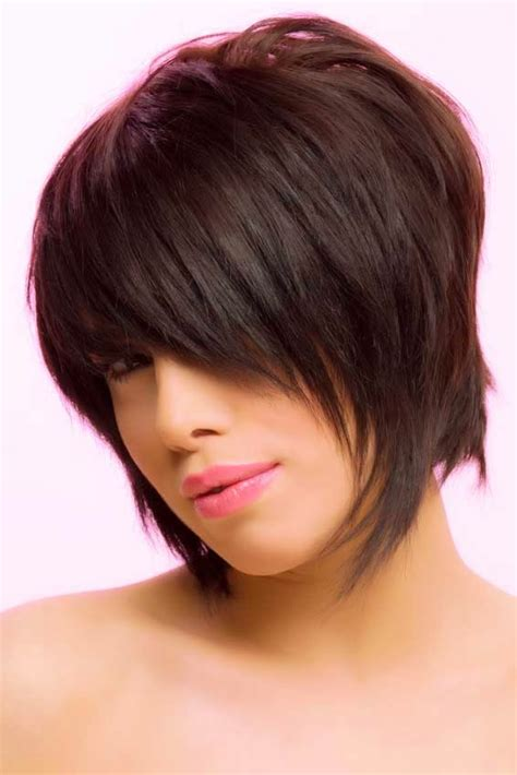 funky chin length hair style short blonde hairstyles