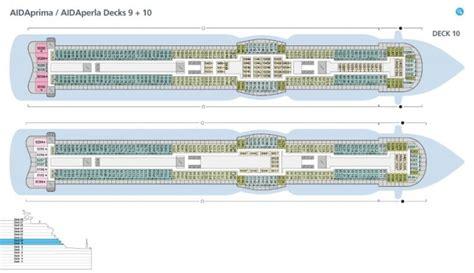 aidaprima deck 9 aidaprima kreuzfahrt routen schiffsreise buchen