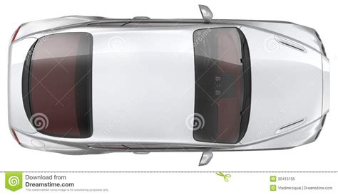 sports cars view luxury sports coupe car top view royalty free stock