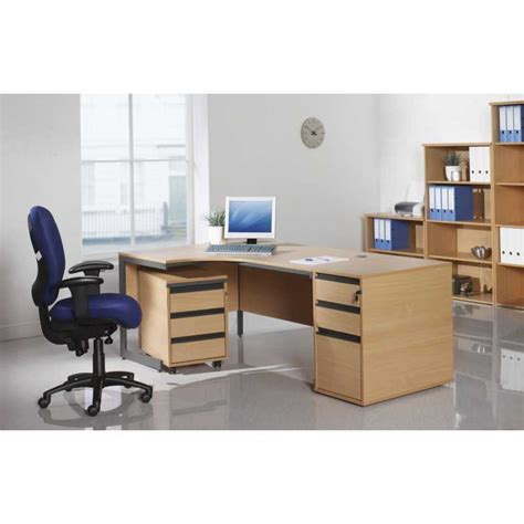 maestro ergonomic radial office desks