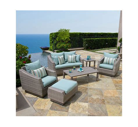 Amazon.com : RST Brands 8 Piece Cannes Sofa and Club Chair