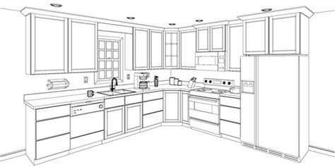 laying out kitchen cabinets asa provides 3d design to envision your kitchen asa