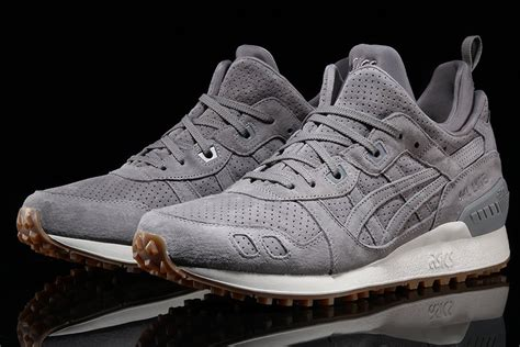 Sepatu Sneakers Asics Gell Lyte Iii Mt Navy Sol Gum For asics gel lyte mt grey navy gum sneakernews