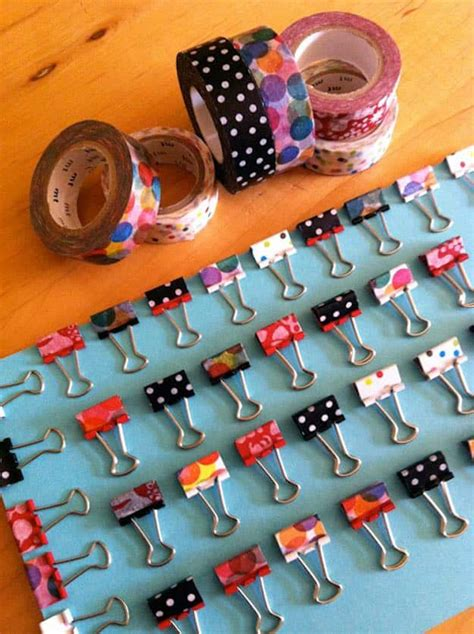 uses for washi tape 100 washi tape ideas to style and personalize your items