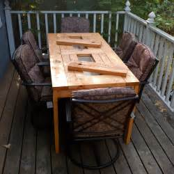 Diy Wood Patio Table Diy Outdoor Wood Chairs Woodworking Projects