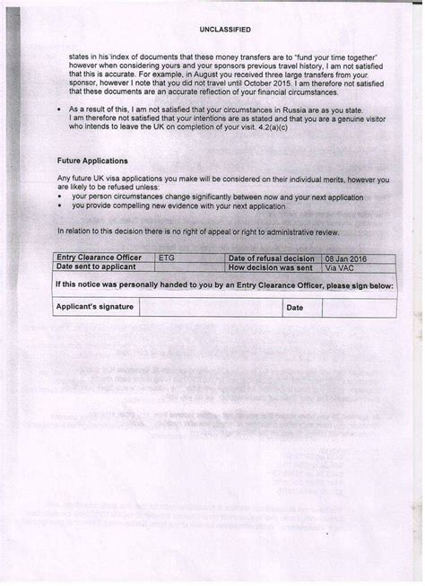 Sponsor Letter To Visit Uk my was a refused a visa to visit me in the uk