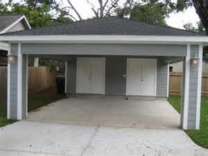 covered garage remodel houston garage carport addition recraft homes