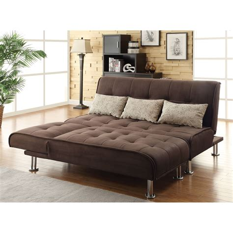 Futon Sofa Sleeper Coaster Furniture 300276 Transitional Sleeper Futon Sofa Bed Homeclick