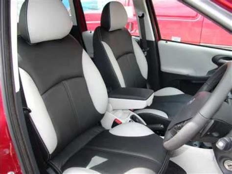 fiat stilo interior bespoke leather interior for fiat stilo by the seat