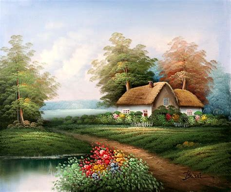 Country Cottage Paintings country cottage paintings country