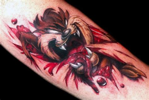 tasmanian devil tattoo designs 40 tasmanian designs for