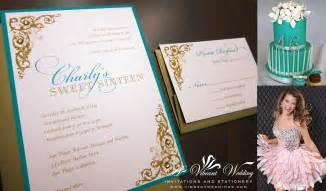 quinceanera invitations a vibrant wedding