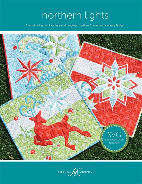 Northern Lights Quilt Pattern Free by Brewerinspires Home Amanda Murphy S Nordic