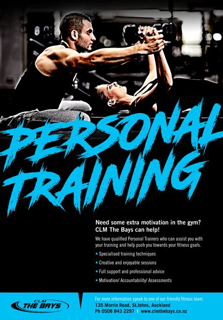 Clm The Bays Personal Trainer Ad Template