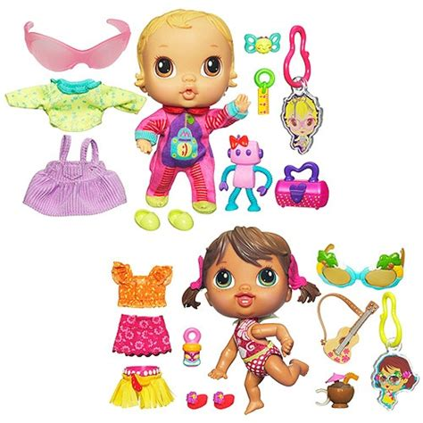 Crib Life Lilly Sweet Hailey Hula Dolls Value Bundle Baby Alive Crib