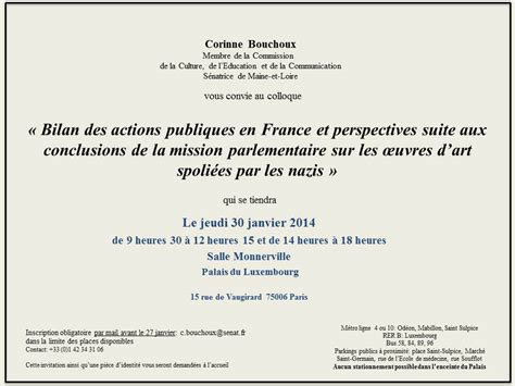 Exemple De Lettre D Invitation Colloque modele invitation colloque document