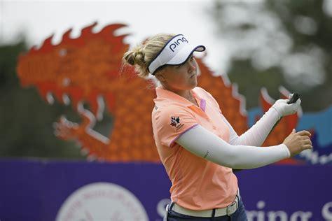 swinging skirts golf leaderboard brooke henderson moves up leaderboard at swinging skirts