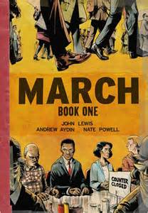 march book one by lewis andrew aydin nate powell