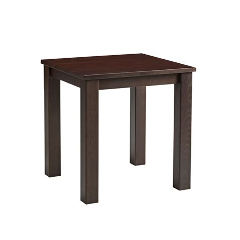 Square Walnut Dining Table Mist Square Dining Table Za 197ct Walnut Zap Trading