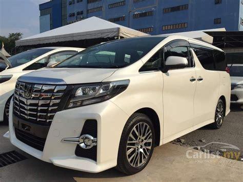 Toyota Alphard 2 5 X 2016 toyota alphard 2016 g s c package 2 5 in selangor