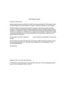 Authorization Letter Sample For Utility Bill why do we need an loa letter of authority u get consultancy