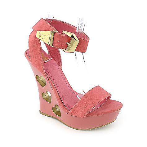 shiekh womens 065 pink platform wedge dress shoe shiekh