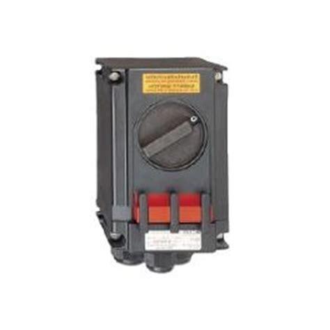 Isolator Switch 20a atex isolator 20a 230v 3 pole for hazardous area zone 1