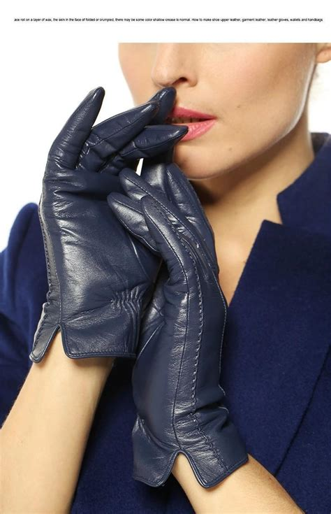 24 Most Fashionable Gloves For This Winter by Fashion Sheepskin Gloves Womens Winter Warm Thickening