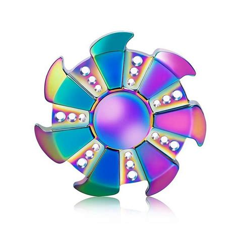 Calming Colours by Metal Fidget Spinner