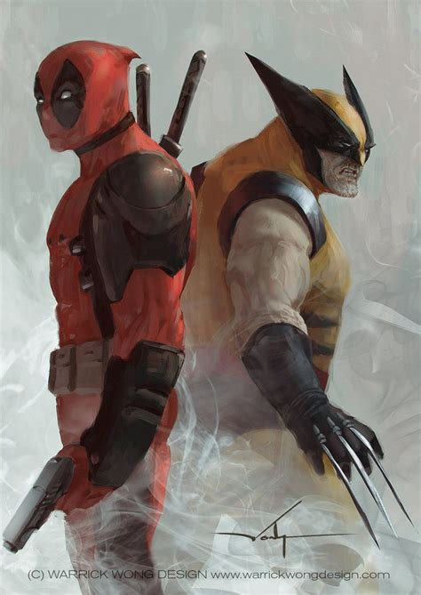 deadpool in wolverine deadpool vs wolverine by walek05 on deviantart marvel
