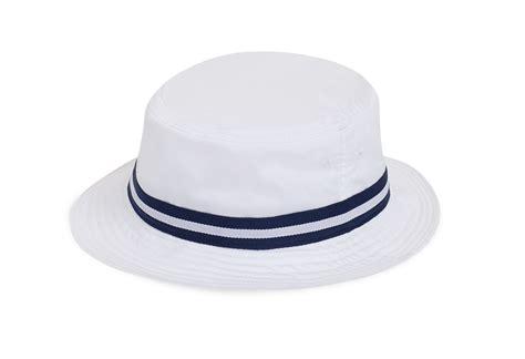 callaway golf bucket hat color white  navy