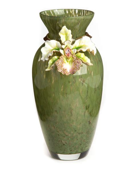 Orchid In A Vase by Strongwater Orchid Vase