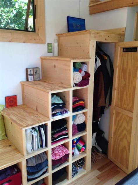 tiny house storage solution tiny house pinterest good idea for tiny house stairs which includes lots of