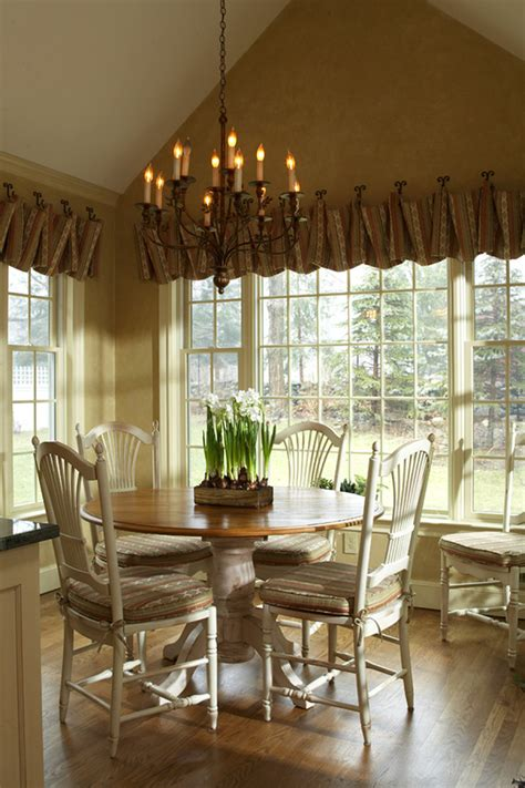 window treatment styles window treatment styles dining room traditional with
