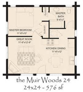 one bedroom log cabin plans muir woods 24 log home floor plan jpg 600 215 665 pixels