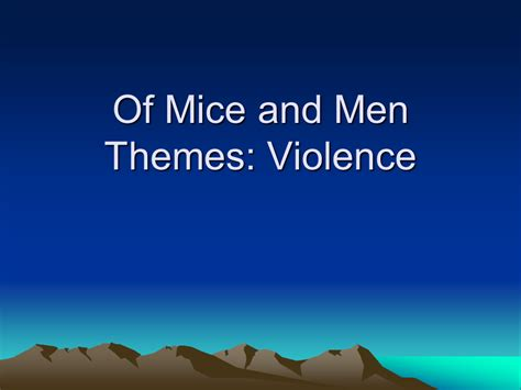 Of Mice And Themes Essay by Of Mice And Theme Essay Nerettr X Fc2