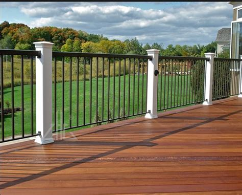 customized aluminum porch railing factory   china
