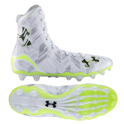 under armoir cleats 116 95 under armor highlight ii lacrosse cleat white