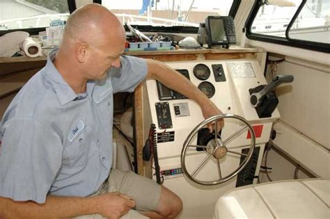 boat steering wheel loose caring for your hydraulic steering boatus magazine